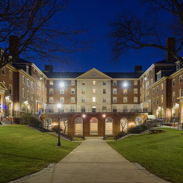 Brown university pembroke quad student housing