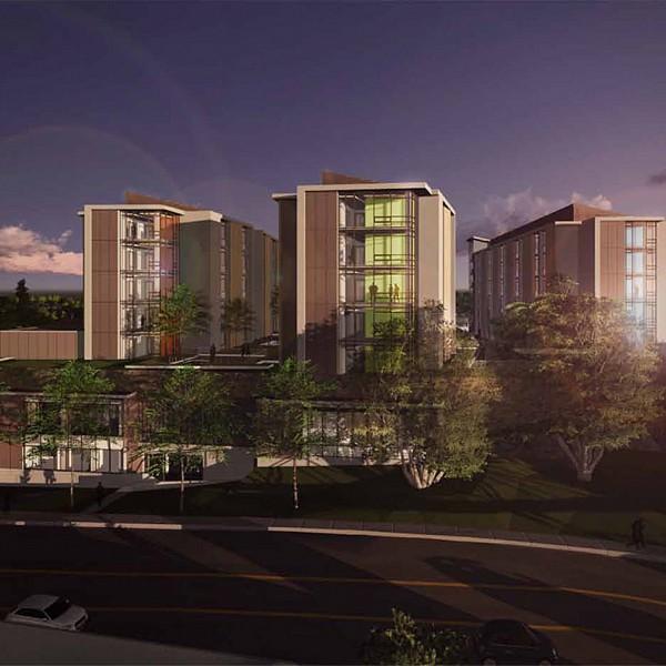 University of california irvine mesa court expansion