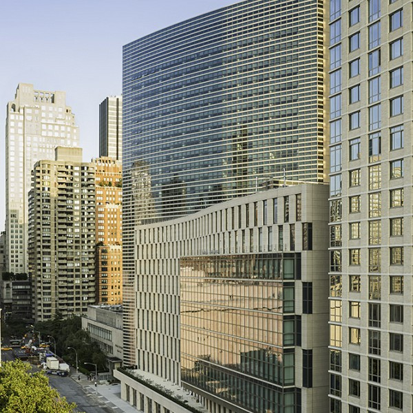 Fordham university law school and dormitory at lincoln center